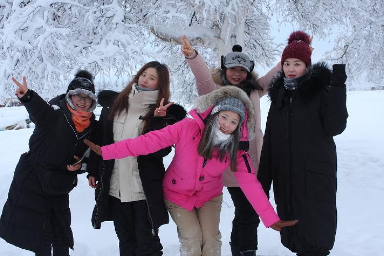 [알래스카 겨울 여행] 자작나무 숲 길 걷기 트레킹 3/3 - 페어뱅크스 겨울 여행 [알래스카 오로라 여행] [알래스카 신혼 여행] [알래스카 허니문 투어]  출처: http://alaska101.tistory.com/891 [알래스카 ..