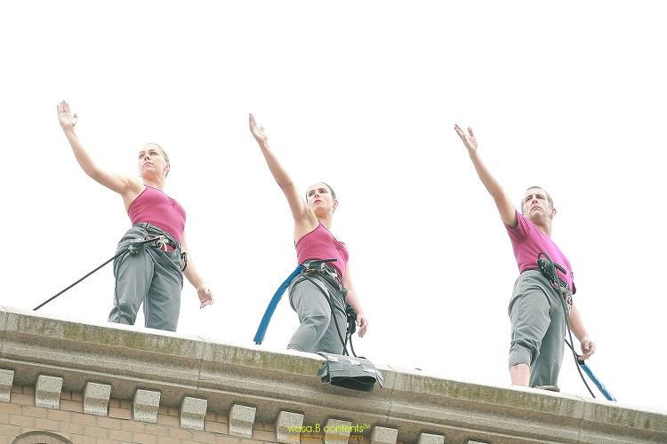 2017 서울거리예술축제(SSAF) '우노' 델레베스 버티컬 댄스 컴퍼니 스페인 서울시립미술관