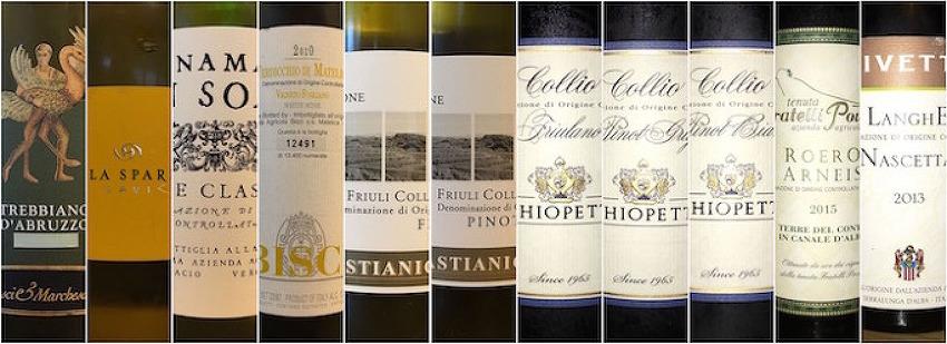 이탈리아 화이트 와인으로의 여행 시음회