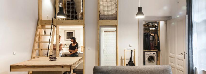 *원룸 오피스 주택 [ studio bunyik + architecture uncomfortable workshop ] micro livework studio