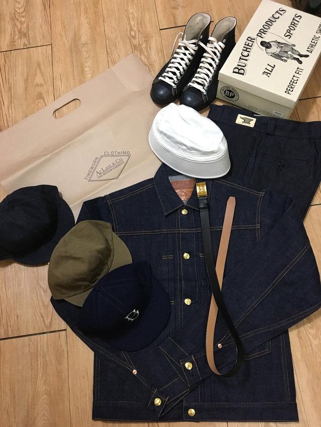 후쿠오카에서 사온 옷들 TIMEWORN CLOTHING