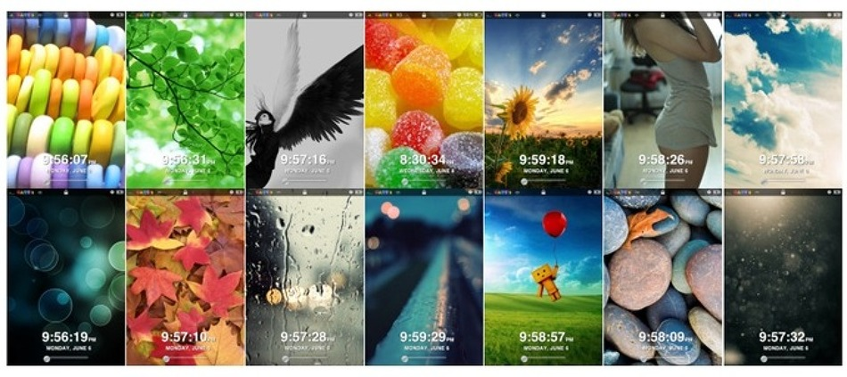 아이폰 6.1.2 테마 적용하기 - 랜덤락스크린테마