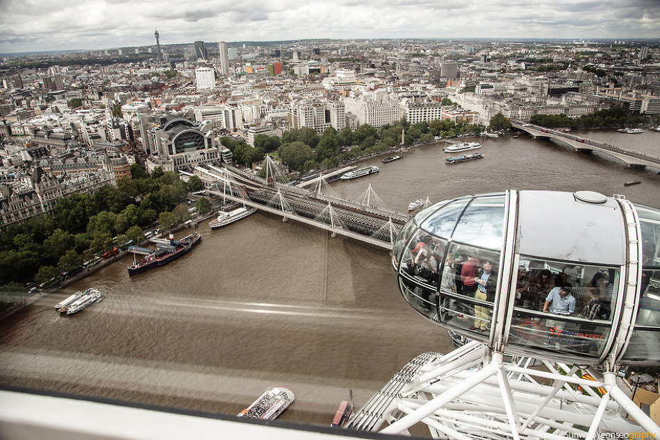 The London Eye 2012