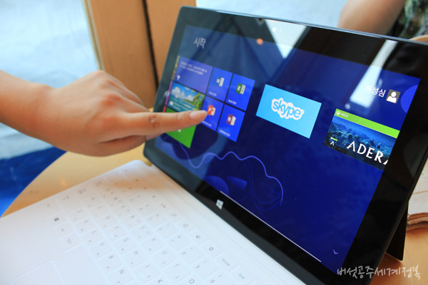 서피스 RT, 서피스 Pro, 서피스 프로, 태블릿, 태블릿PC, MS 팝업 스토어, 마이크로소프트, MS Surface Pop-up Zone, 서피스 팝업 존