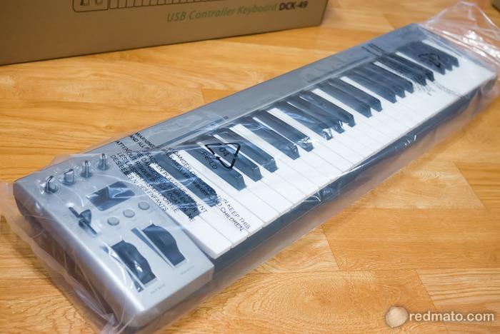 책상 위 작은 피아노, 49건반 다이나톤 마스터 키보드 DCK-49
