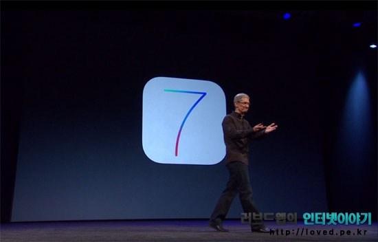 아이폰 iOS7, iOS7, 새로운 기능, iOS7 베타, WWDC 2013