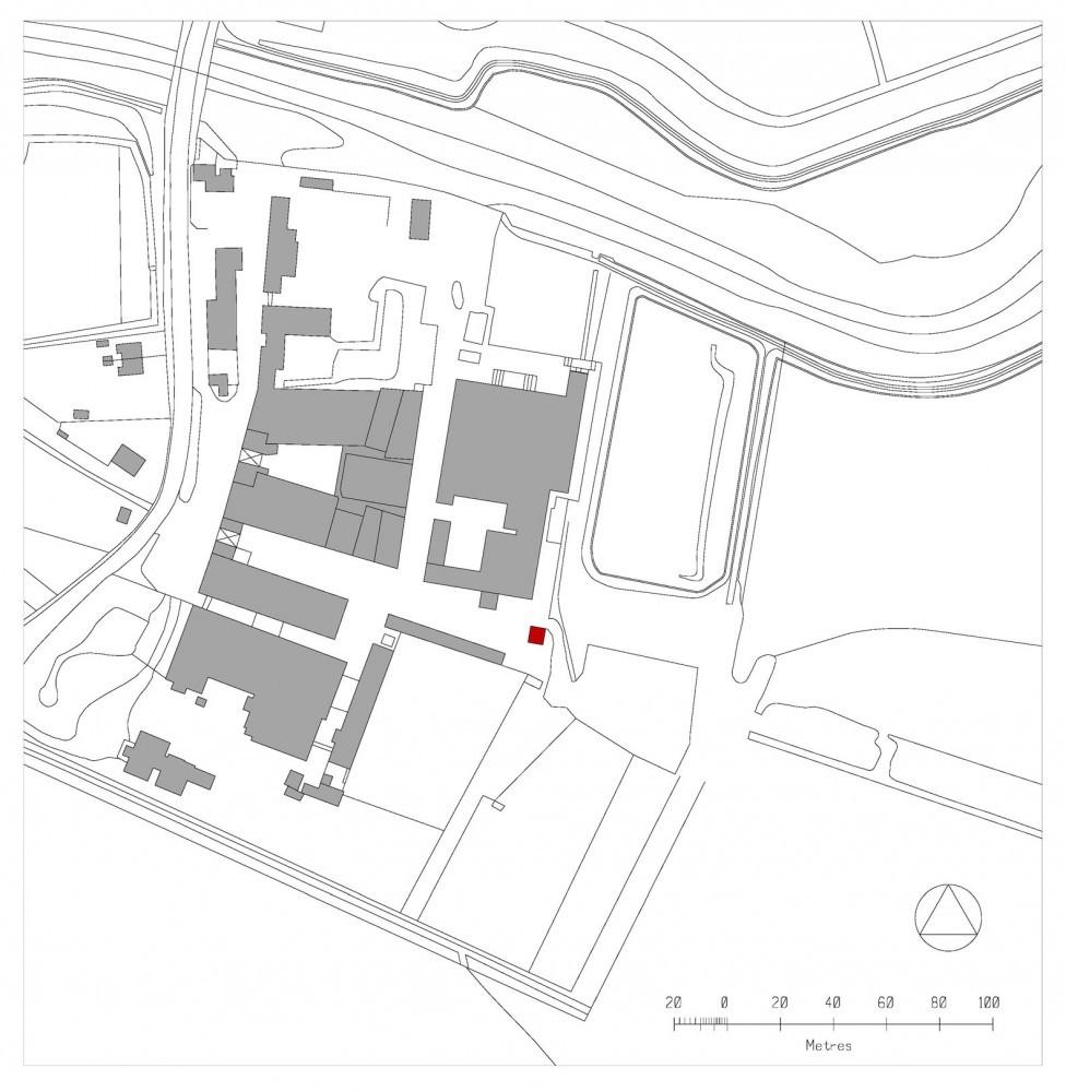 """Строительство: 2009 Общая площадь: 30 м2 Бюджет: $155,000 Фото: Philip Vile.  Название: Студия  """"Голубятня """" (Dovecote..."""