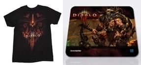 디아블로3 티셔츠, 디아블로3 마우스패드