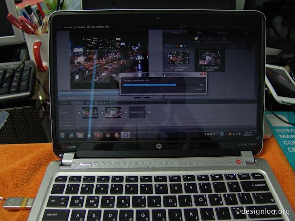 HP 엔비 스펙터 XT, 울트라북, 포토샵, 프리미어 성능테스트
