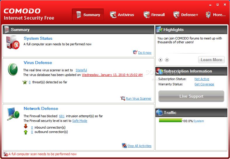 COMODO Internet Security 4.0