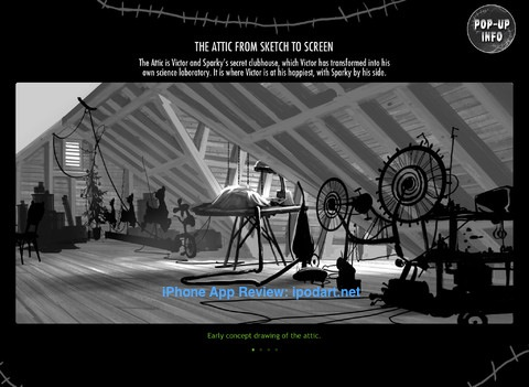 Frankenweenie: An Electrifying Book 아이패드 영화 팀버튼 프랑켄위니