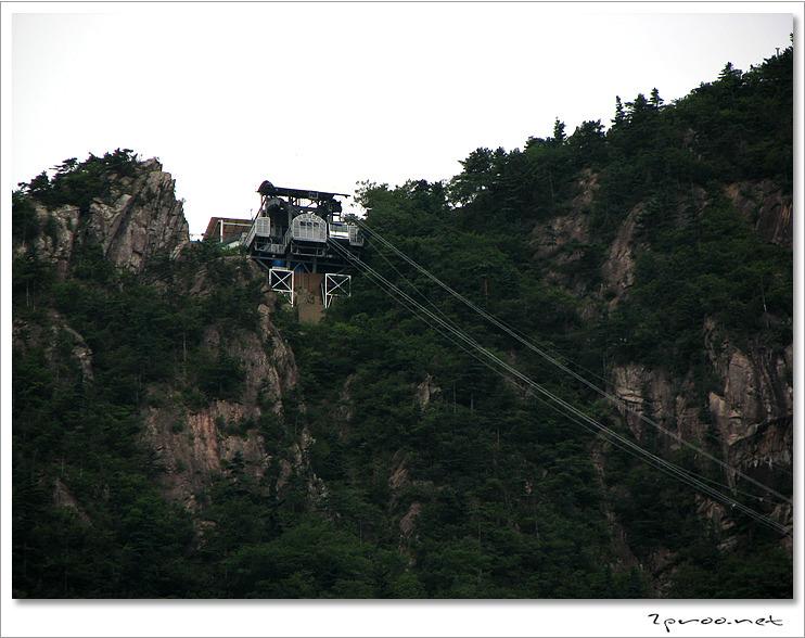 설악산 사진, 설악산 케이블카 사진