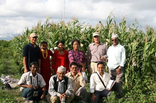 국제옥수수재단의 제4차 네팔 방문