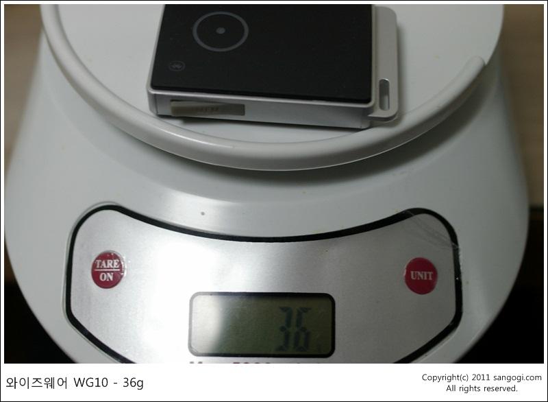 와이즈웨어 WG-10 - 36g