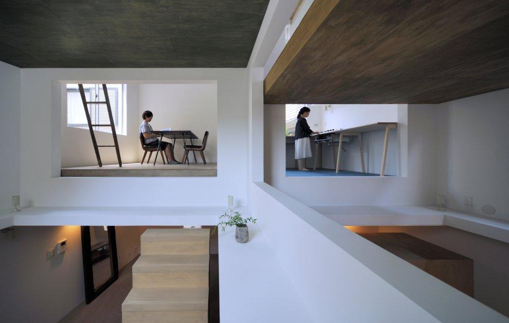 Hiroyuki shinozaki architects house t 5osa - Finestra a due archi ...
