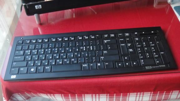 HP 터치스마트 무선 키보드