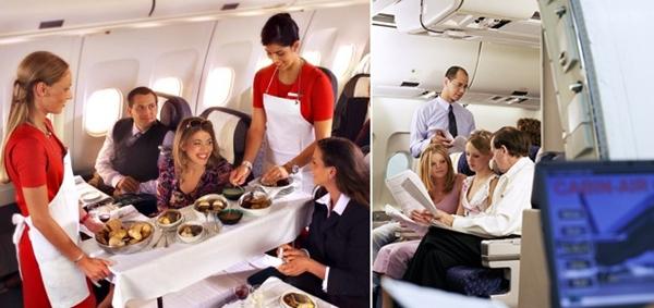 지금의 항공기 여객, 당시와는 많이 다른거지? ^^::
