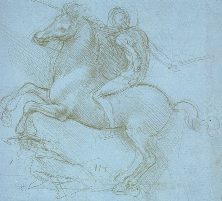 레오나르도 다 빈치 Leonardo da Vinci 스케치 고화질사진