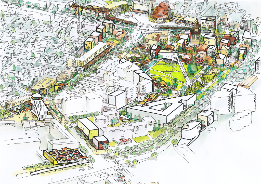 Bolles Wilson Kor A Master Plan Competition In Albania 5osa