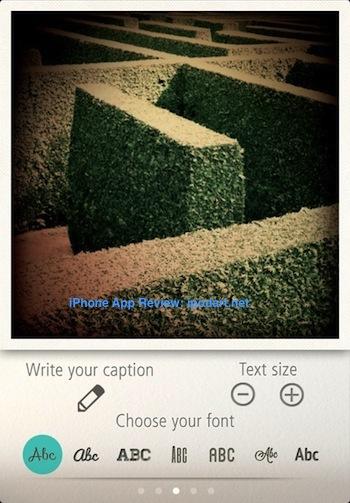 Typic 아이폰 사진 텍스트 입력 워터마크 인스타그램