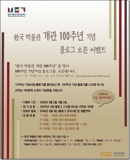 한국박물관 개관 100주년