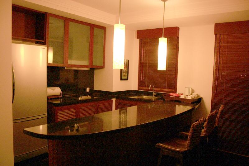 노보텔 누사두아의 주방