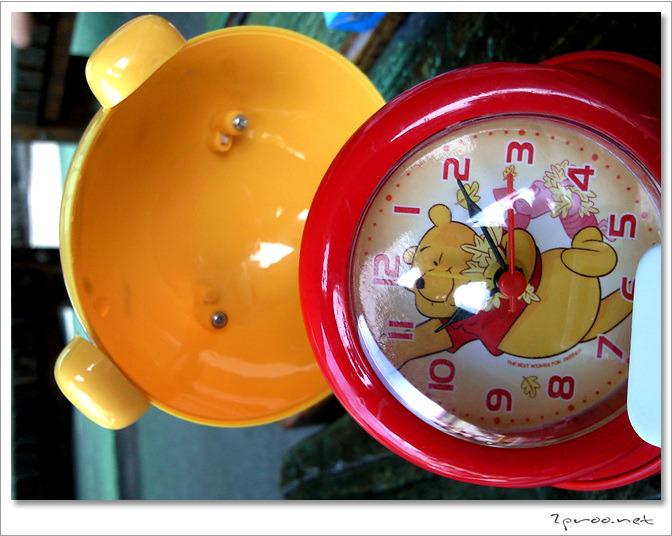 팬시용품 곰돌이 푸우 탁상시계