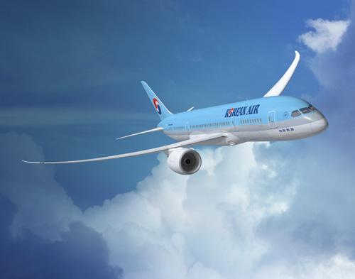 일본 출발, 괌으로 일본 승객을 실어나른 대한항공