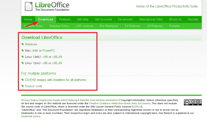 libreOffice3.5한글