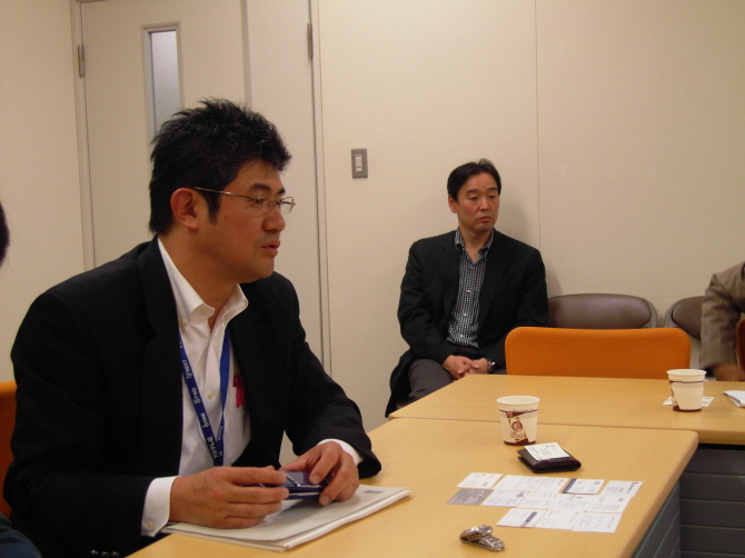 후지TV 디지털콘텐츠국 디지털사업센터 실장 쓰카모토 마키오 (뉴미디어 진출 담당) 씨