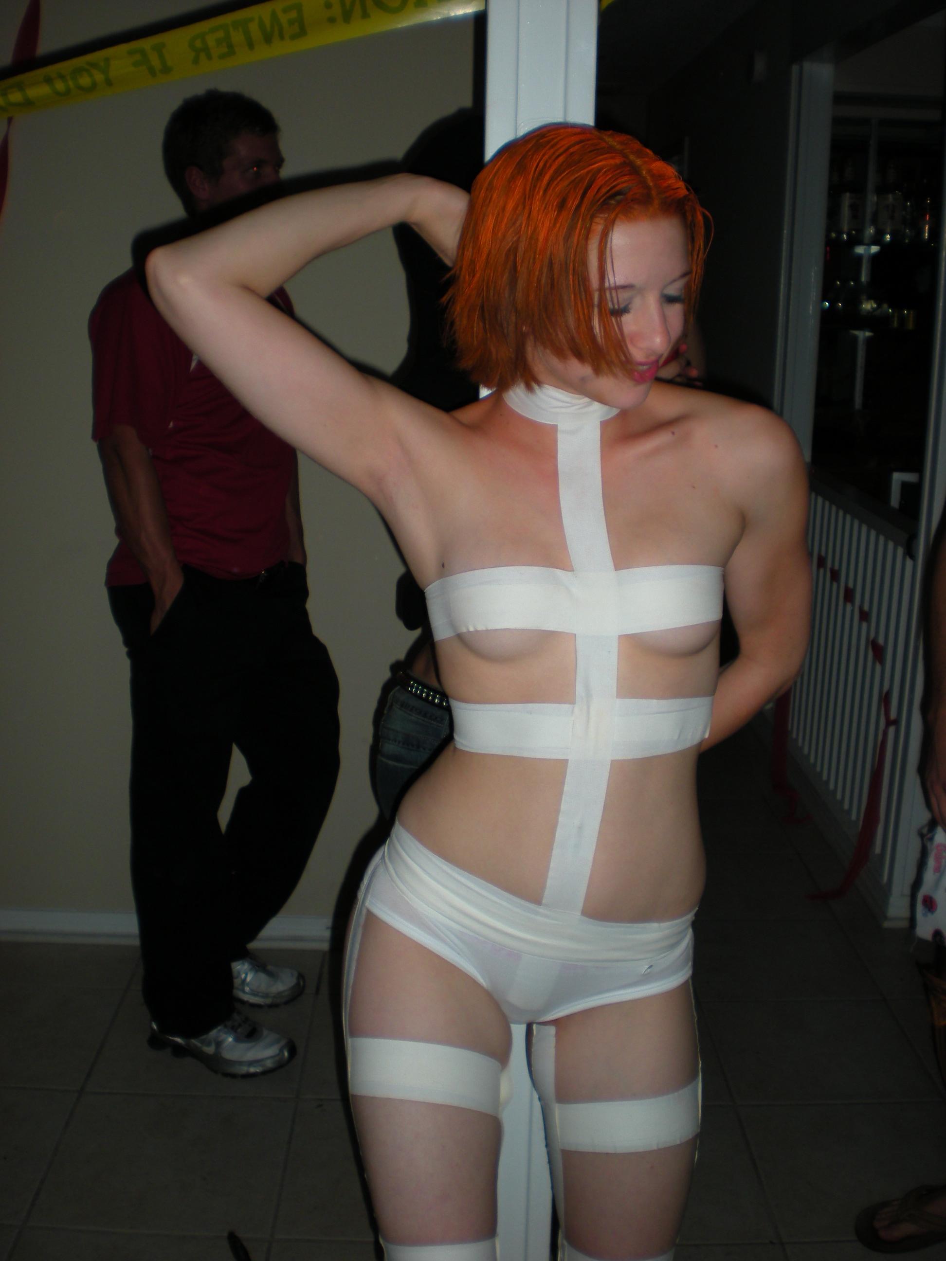 Busty strips on webcam
