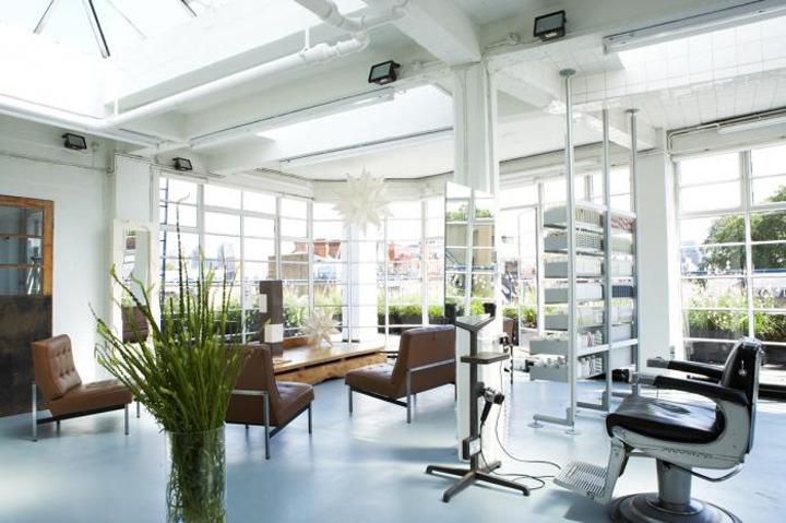 Interior exhibition vmd fourth floor hair salon london for Interior stylist london