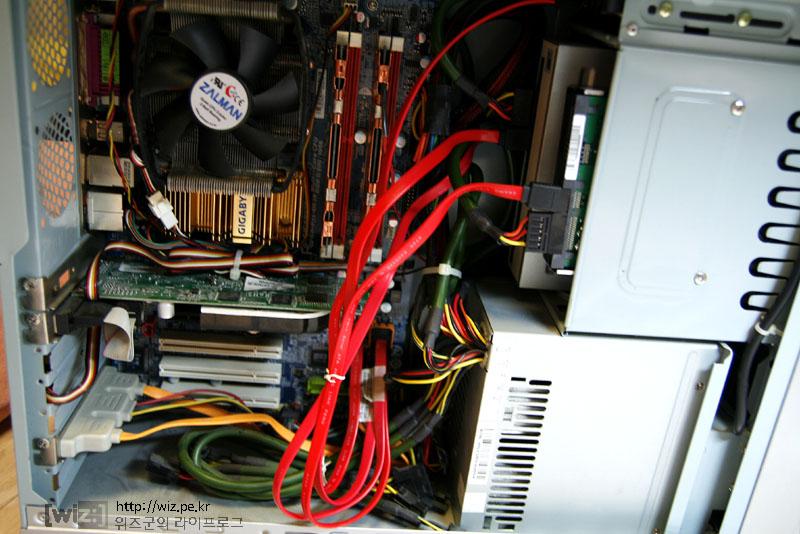 간단하게 HDD 설치하기