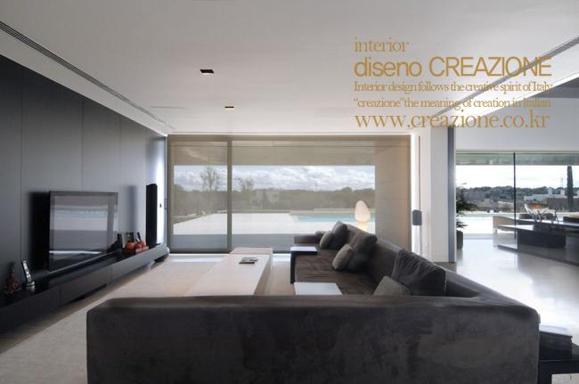 Creazione - Moderne wohnzimmereinrichtung ...