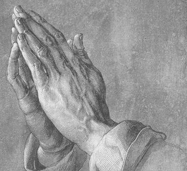 뒤러, 기도하는 손