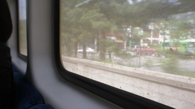 서울 지하철 황사