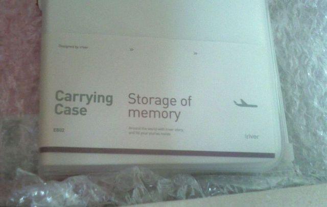 Carrying Case... 휴대용 케이스? 아무튼 저게 이름인 듯.