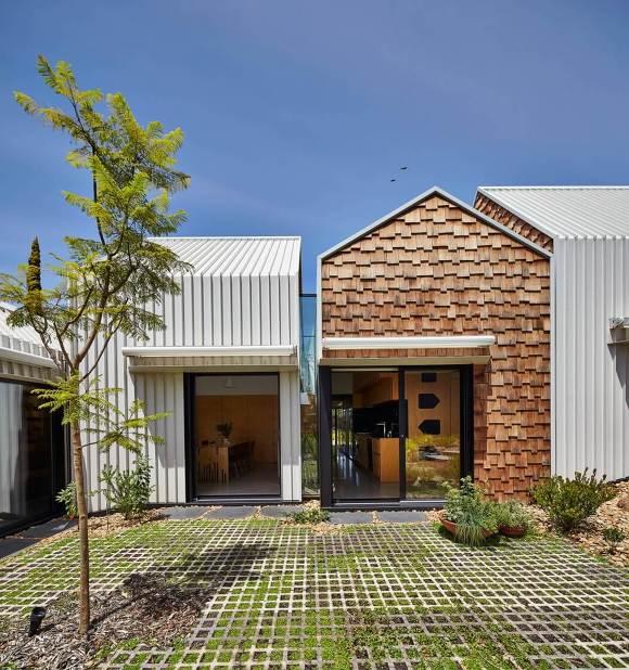건축가 Andrew Maynard의 혁신적인 판잣집 : 타워하우스