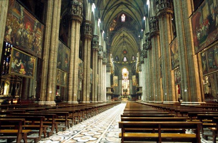 밀라노 대성당 Milan Cathedral 내부