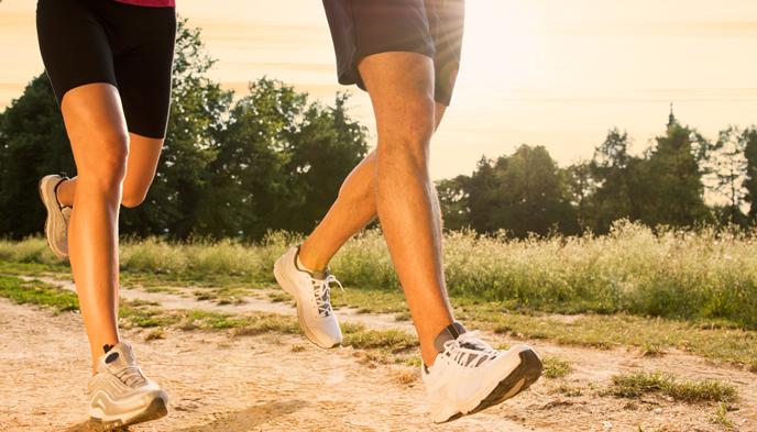 가벼운 운동과 규칙적인 생활