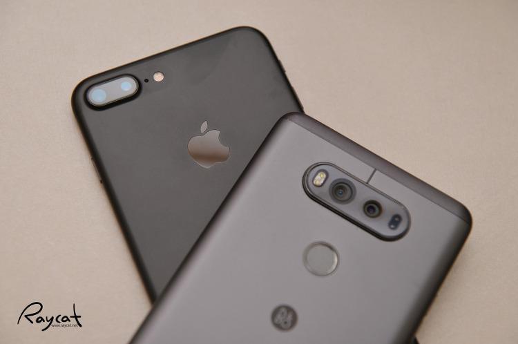 LG V20과 아이폰7 플러스