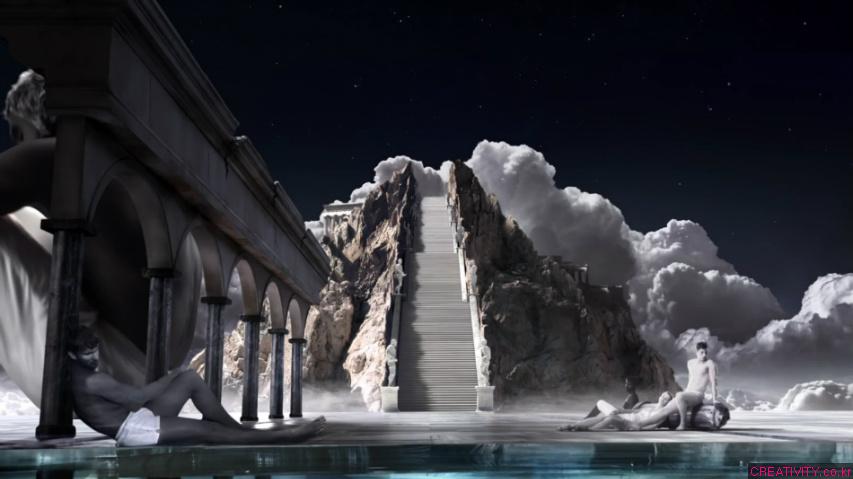 올림푸스의 신들마저도 깨어나게 만드는 여신의 향수, 파코라반(Paco Rabanne) 올림피아(OLYMPÉA) 향수 TV광고.