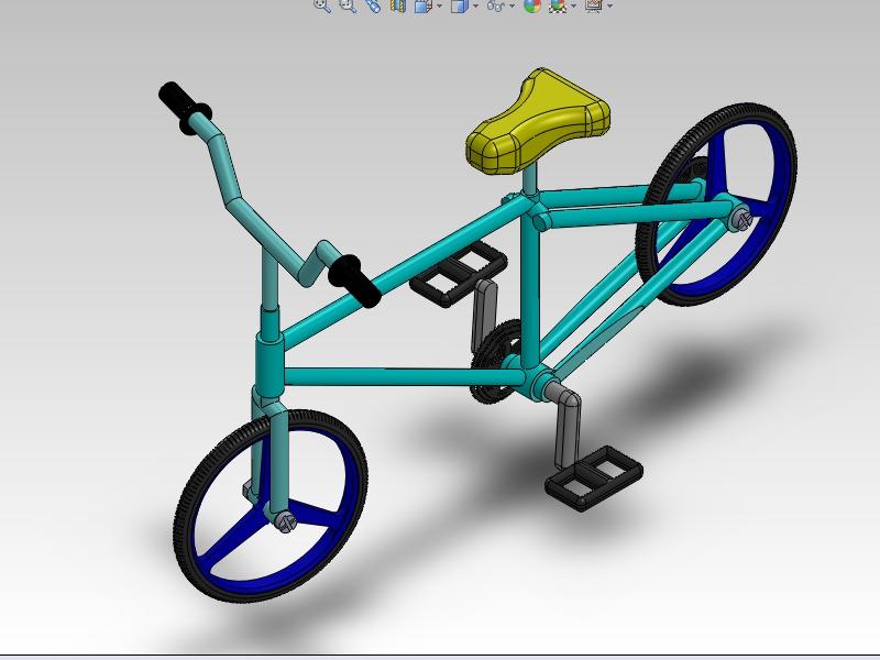 솔리드웍스 | 자전거
