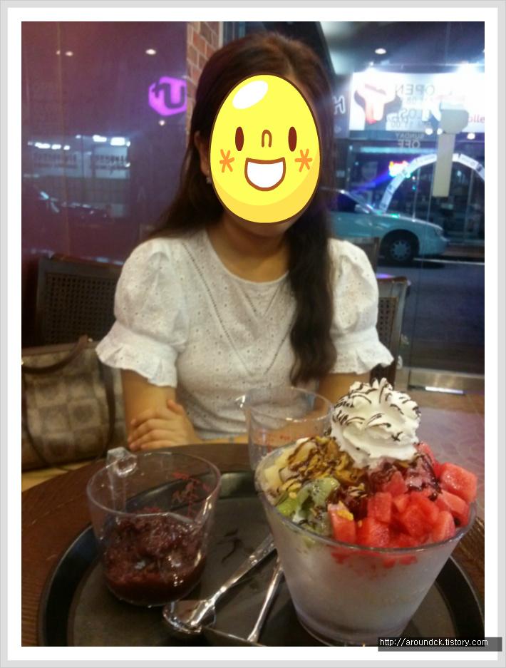 [전민동/카페] 베로 ( Vero ) 에서 먹은 팥 없는 팥빙수.