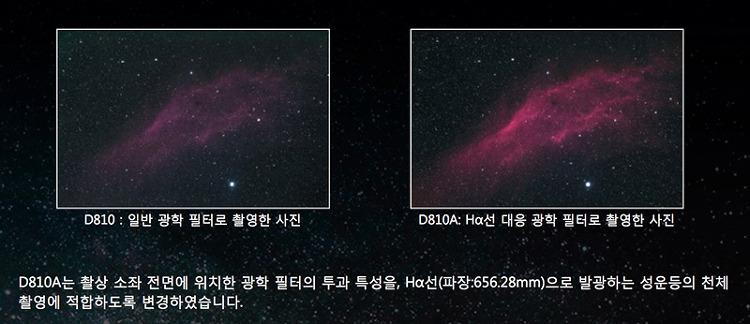 니콘 D810A 천체사진