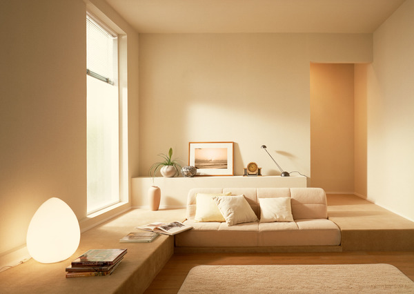Simplely decorated small living room HD picture
