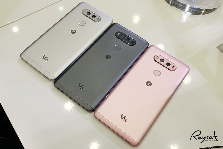 LG V20 실버,티탄,핑크