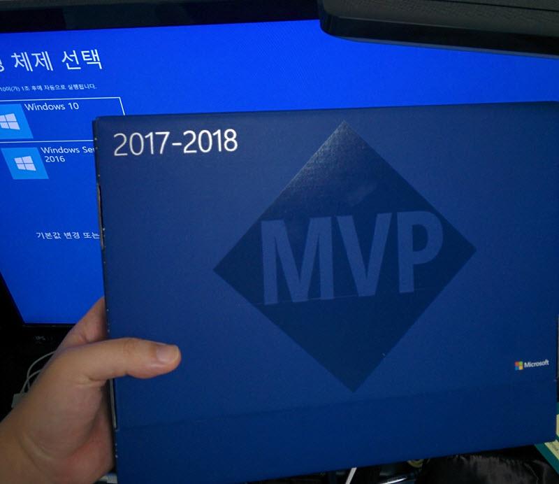 덧. Microsoft MVP도 내년 중순까지 연장되었습니다.