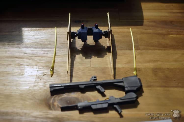 건담, 건프라, mg, 백식, 2.0, 조립, 후기, 무기, 무장