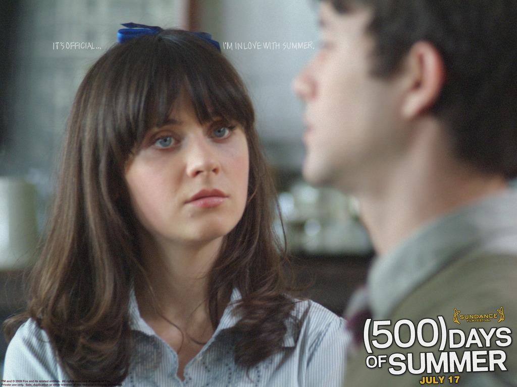 500 дней лета ((500) days of summer) (2009) обои